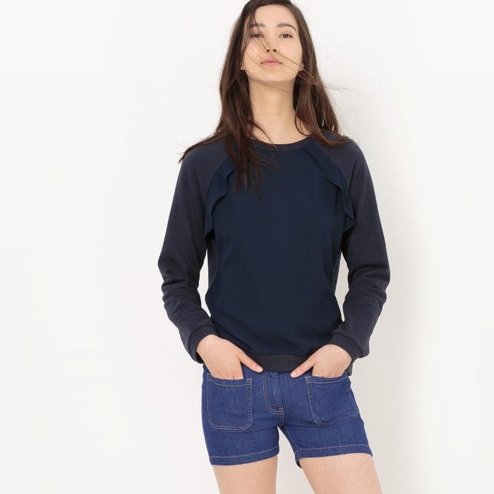 afbeelding Sweater in katoen met volant R édition