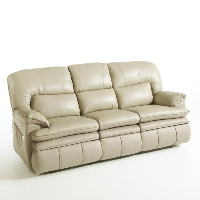 Image Canapé relaxation, cuir, Matei La Redoute Interieurs