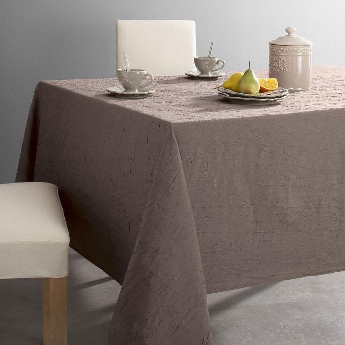 nappe polyester froiss ceryas la redoute interieurs la. Black Bedroom Furniture Sets. Home Design Ideas