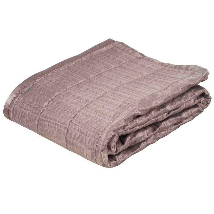 Couvre lit matelass polyester nolita gris clair gris - Couvre lit gris clair ...