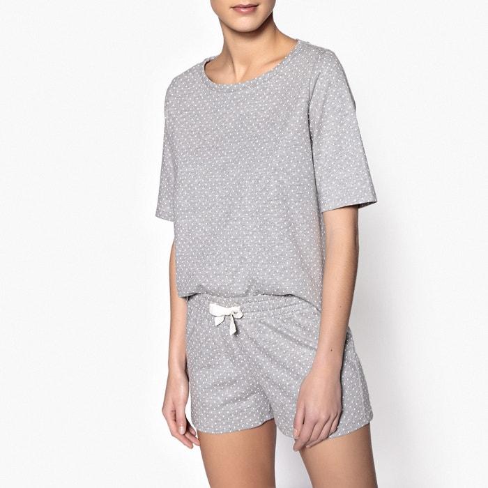 Polka Dot Print Short Pyjamas  La Redoute Collections image 0