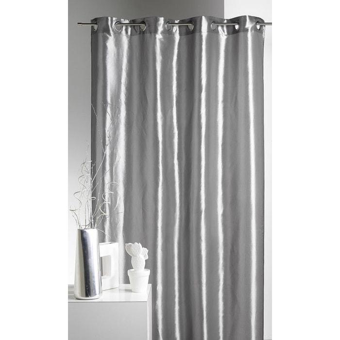 rideau ameublement en taffetas uni de couleurs home maison la redoute. Black Bedroom Furniture Sets. Home Design Ideas