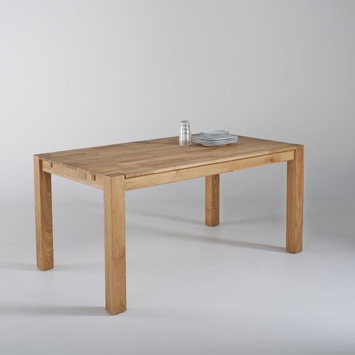 """Tisch """"Adelita"""" mit 2 Verlängerungen, Eiche massiv  La Redoute Interieurs image 0"""