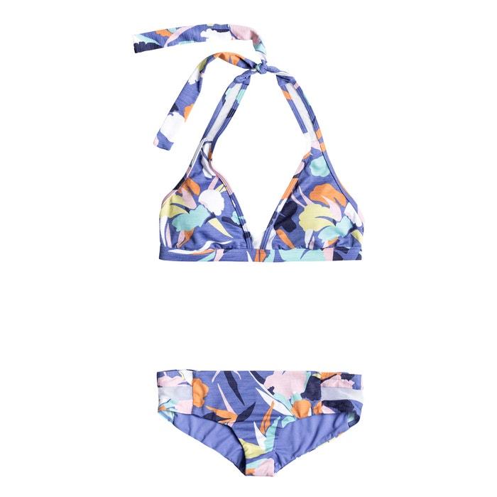 Imagen de Conjunto de 2 prendas Halter Shorty estampado floral ROXY