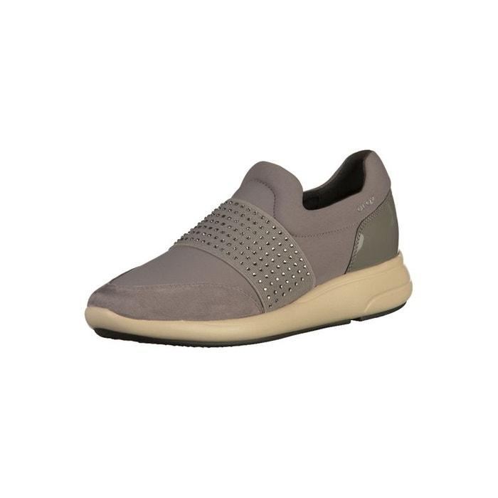 La Vente En Ligne Populaire Offres En Ligne Sneaker gris foncé Geox Expédition Bas Pas Cher vwVu8