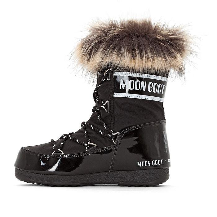 Bottes monaco low noir Moon Boot