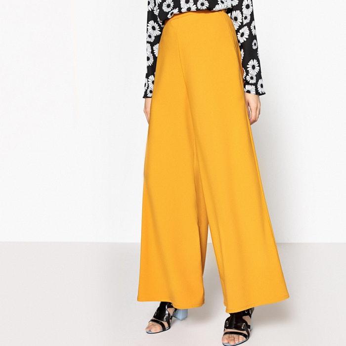 Pantalón ancho de talle alto  La Redoute Collections image 0