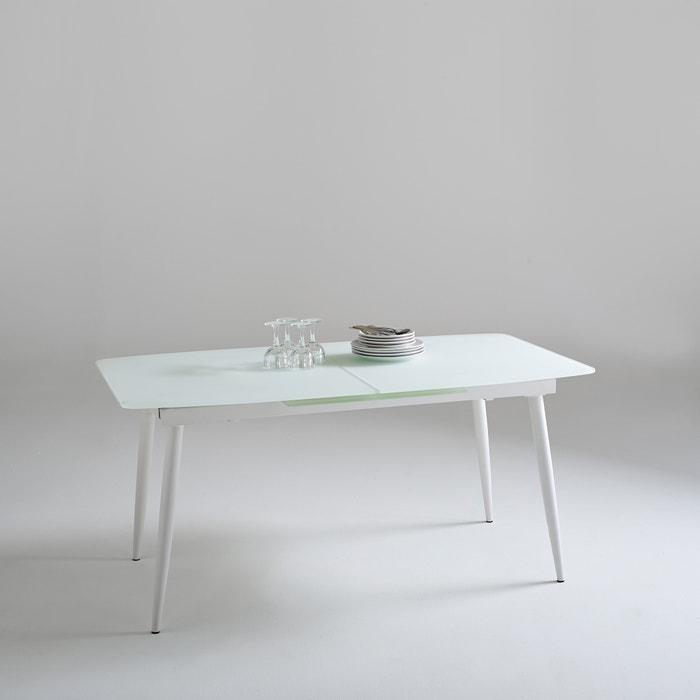 afbeelding Design tafel met verlengstuk, Blanco La Redoute Interieurs