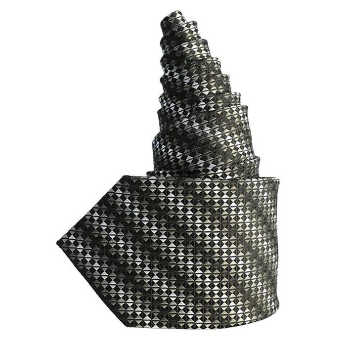 dégagement Cravate en soie noire multicolore Toutacoo | La Redoute Prix boutique Pas Cher WdXF3H5omv