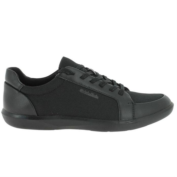 Chaussures à lacets cuir + synthetique  noir Calvin Klein  La Redoute