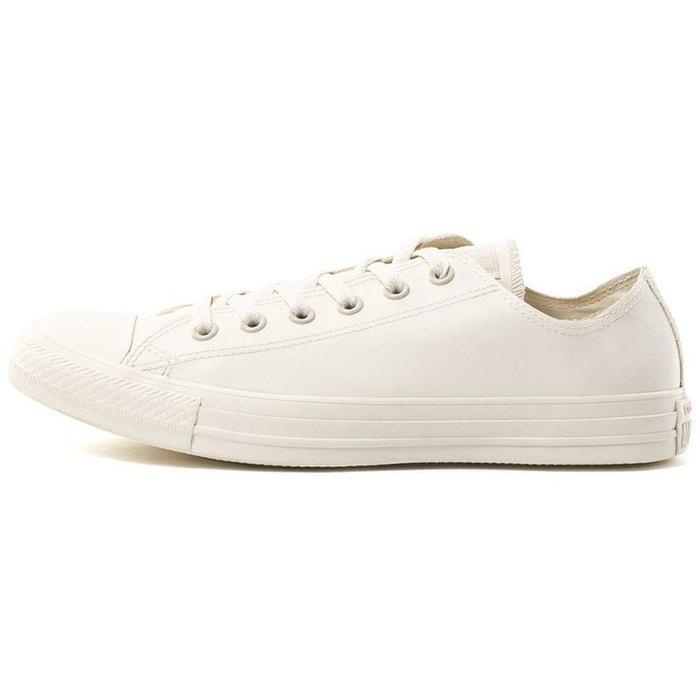 Baskets mode textile  blanc Converse  La Redoute