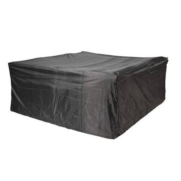 Housse mobilier de jardin aerocover gris aerocover la for Mobilier de jardin la redoute