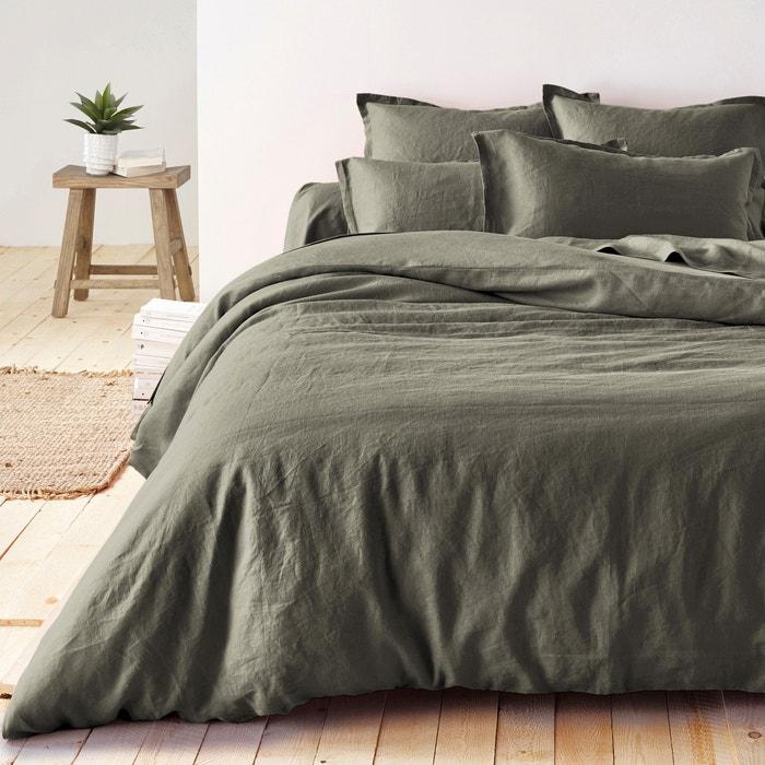 Image 100% Pre-Washed Linen Duvet Cover La Redoute Interieurs