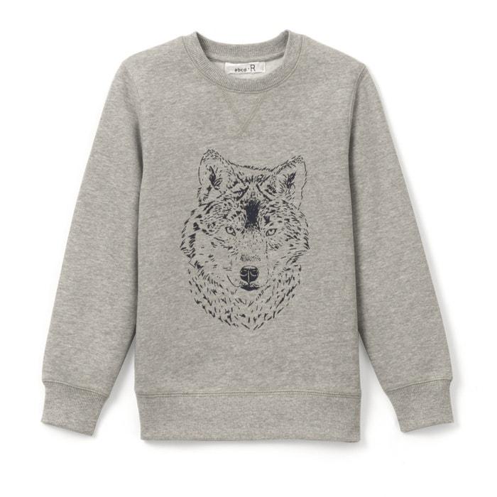 afbeelding Sweater met wolvenkop 3-12 jr R édition