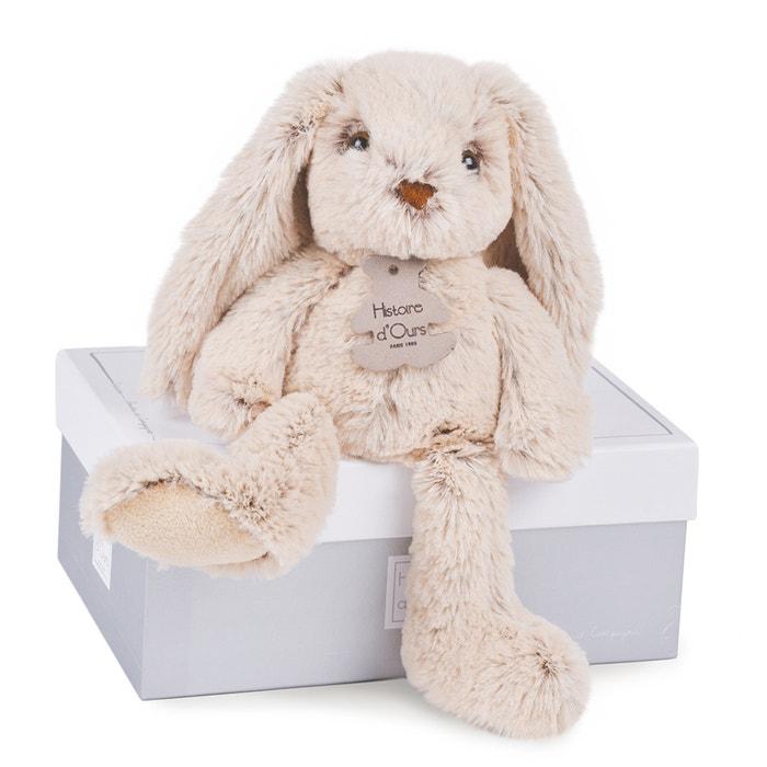 Small Les Copains Câlins Beige Rabbit, 25cm  HISTOIRE D'OURS image 0