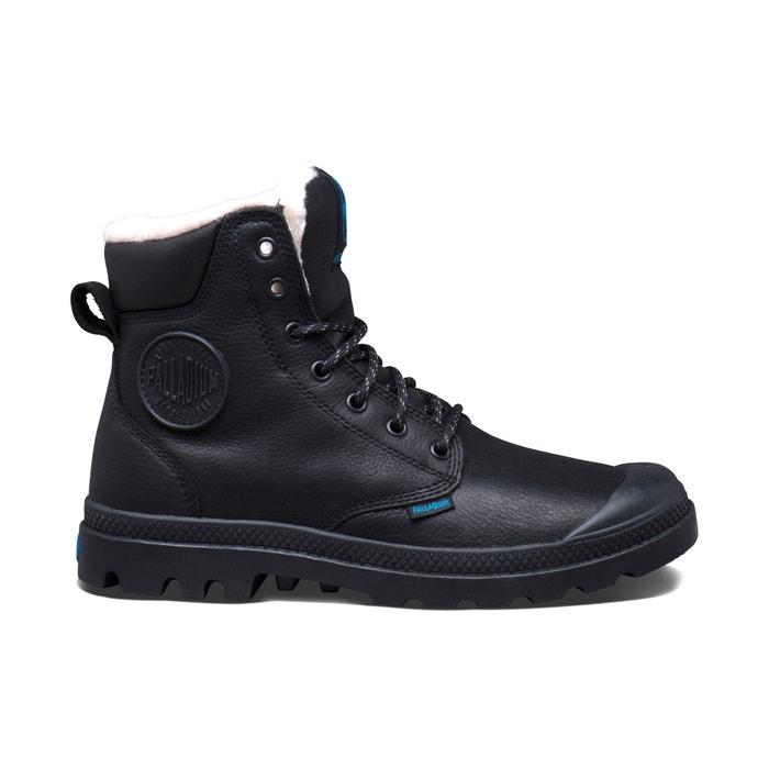 Imagen de Zapatillas deportivas de piel con caña alta y cordones Pampa Sport WPS PALLADIUM