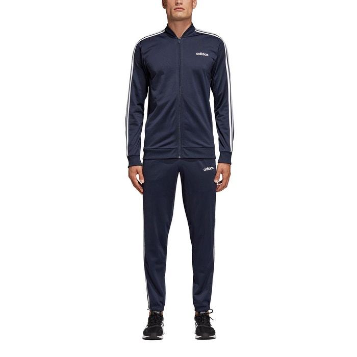 7949c919095 Survêtement 3-stripes bleu marine bleu marine blanc Adidas