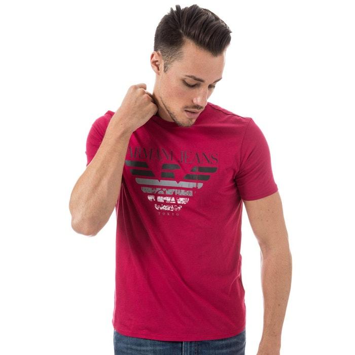 T shirt armani rouge Armani   La Redoute 94779d2524fe
