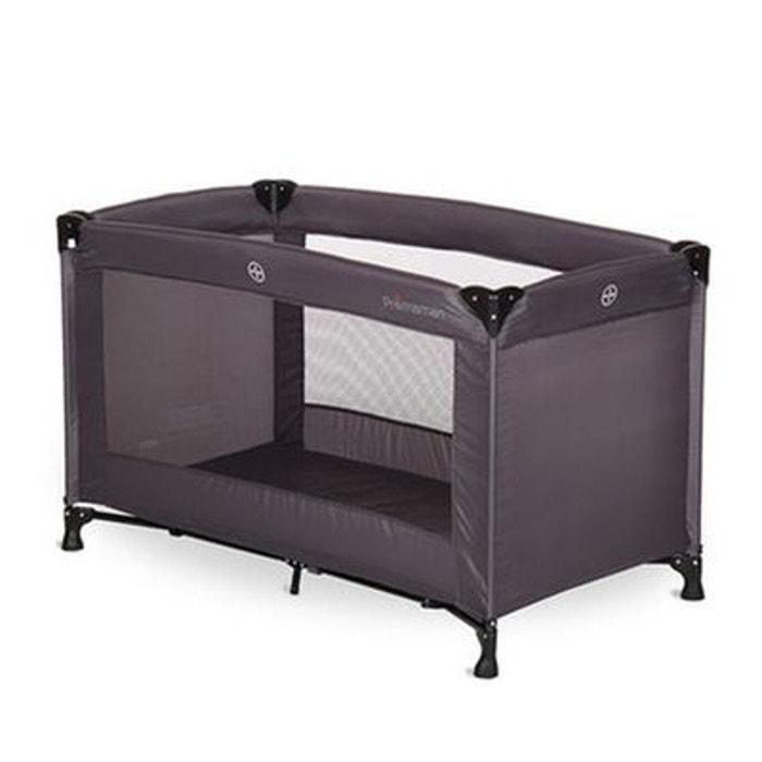 lit de voyage 39 kispli 39 pr maman anthracite couleur unique premaman la redoute. Black Bedroom Furniture Sets. Home Design Ideas