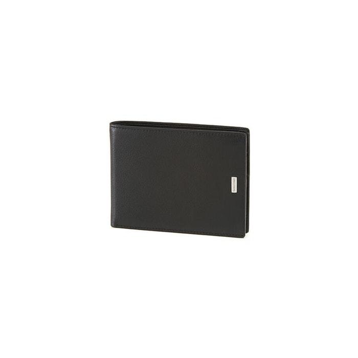 Sortie Authentique Pas Cher Ordre De Vente Nyx 3 slg portefeuille cuir noir Samsonite | La Redoute OeEvnr
