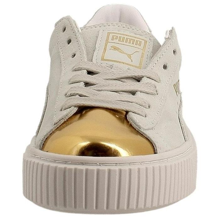 Baskets PUMA Gold femme Platform Suede wX0wTf4q