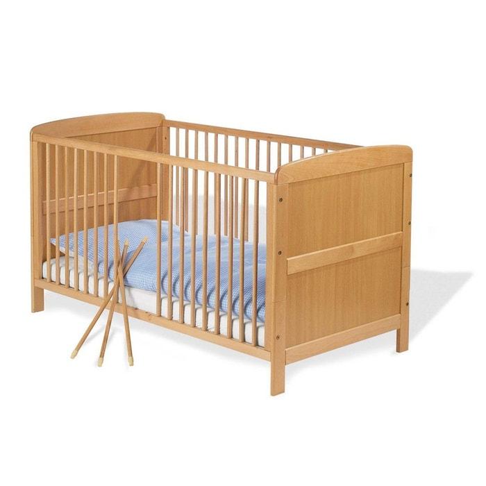 lit b b volutif bjorn en h tre massif 70 x 140 de. Black Bedroom Furniture Sets. Home Design Ideas