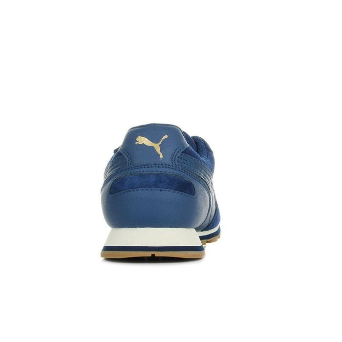 Baskets homme st runner sd blue depths bleu marine Puma