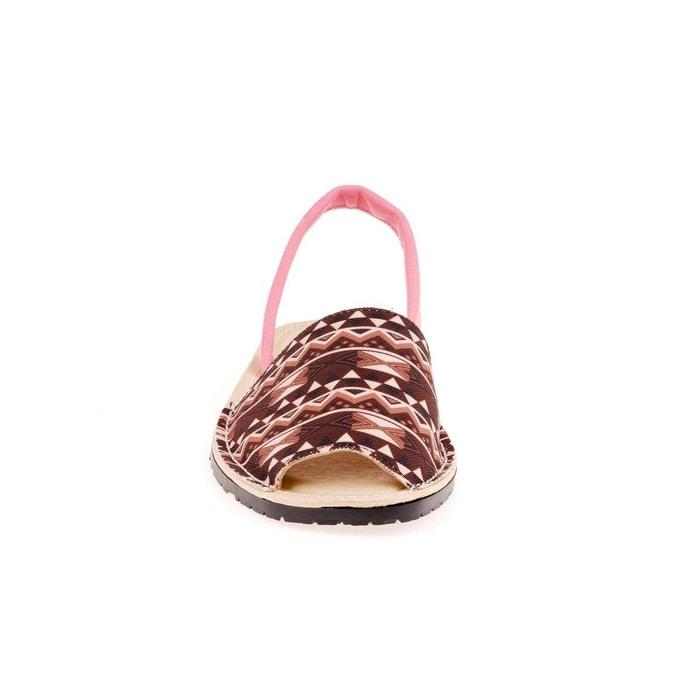 Sandale rose Vaquetillas