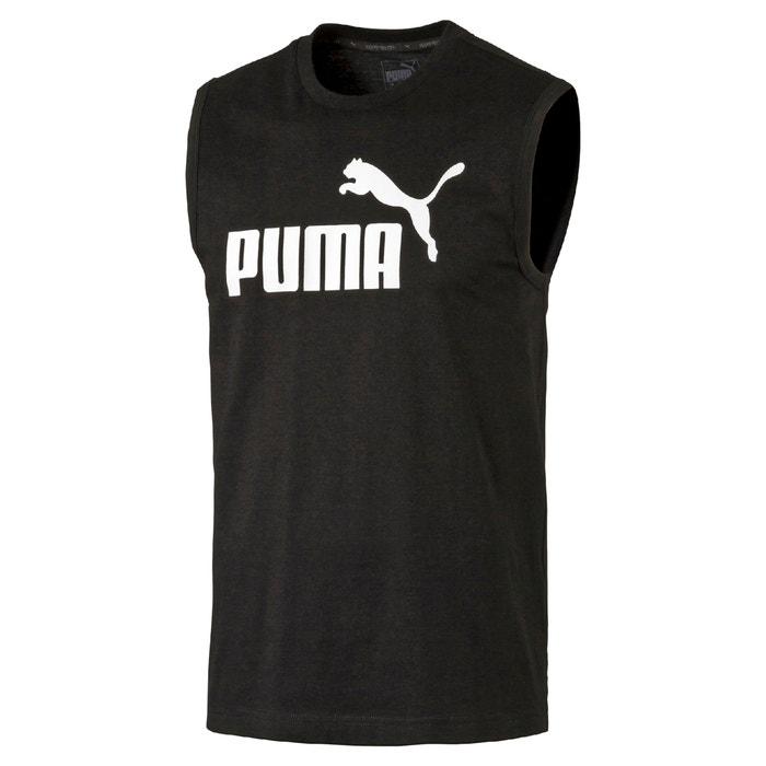 punto cuello PUMA mangas de Camiseta con sin redondo w8TPS