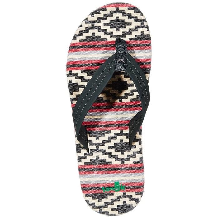 Planer tx - sandales homme - noir/multicolore noir Sanük