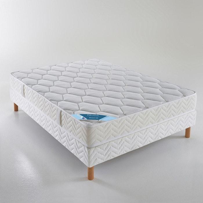 ensemble matelas mousse haute r silience sommie blanc reverie la redoute. Black Bedroom Furniture Sets. Home Design Ideas