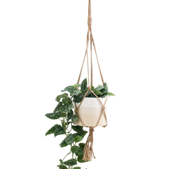 afbeelding Op te hangen bloempot TEYRA La Redoute Interieurs