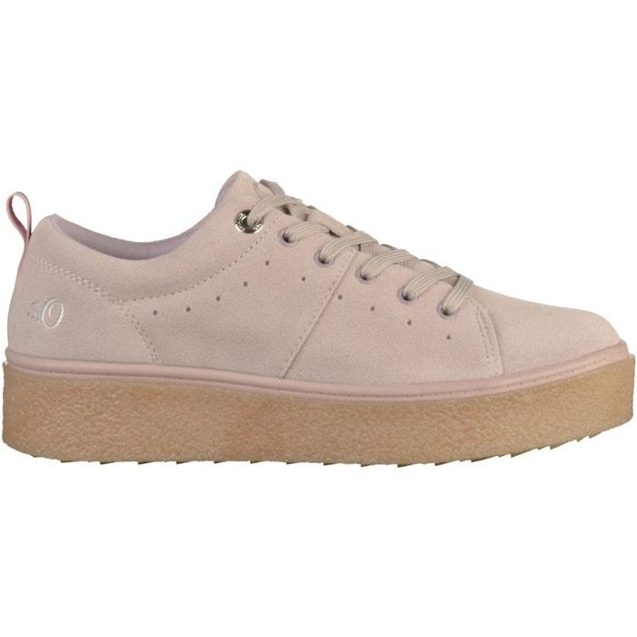 Footaction Prix Pas Cher Sneaker rose S.Oliver Vente Combien A1W2BNbIsl