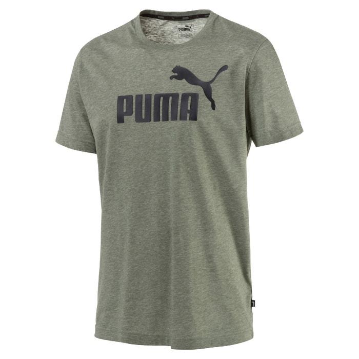 Short-Sleeved Crew Neck Logo Cotton Mix T-Shirt  PUMA image 0