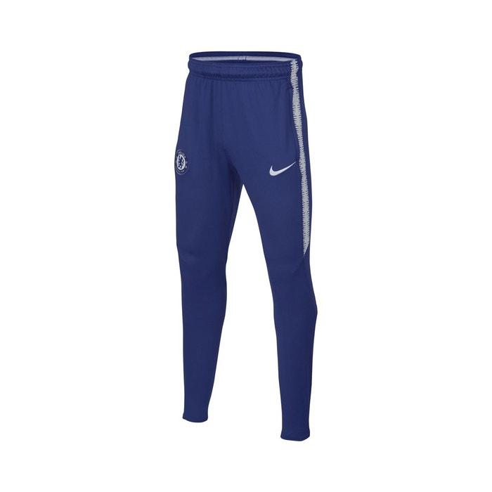 Pantalon entraînement chelsea nike squad bleu junior bleu Nike  5c169f88afa