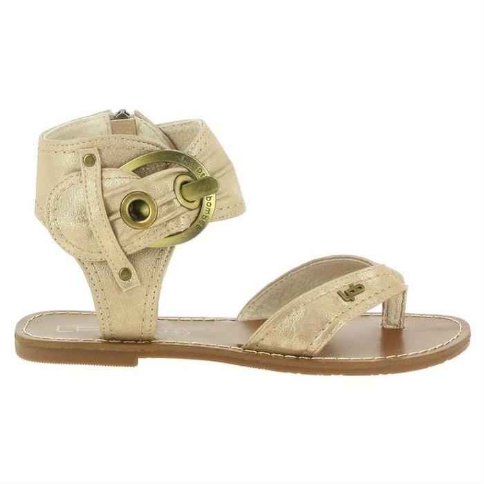 Sandales  /  nu-pieds simili cuir  beige Lpb Shoes  La Redoute