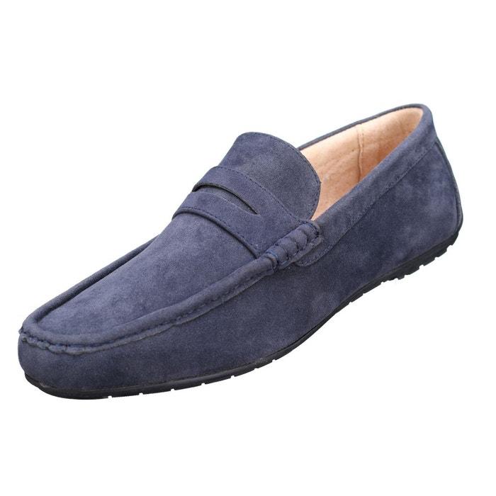 Chaussure derbie à enfiler bleu Reservoir Shoes