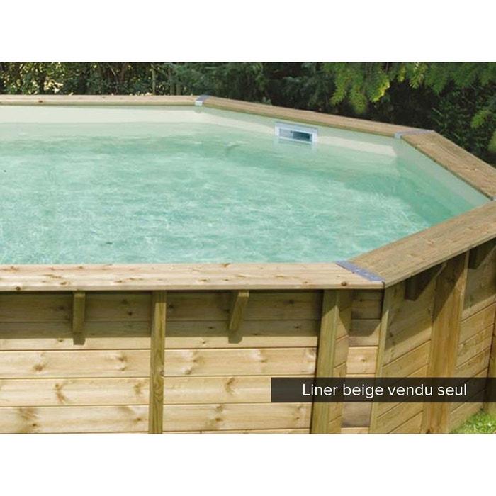 liner seul pour piscine bois oc a 4 30 x 1 20 m beige. Black Bedroom Furniture Sets. Home Design Ideas