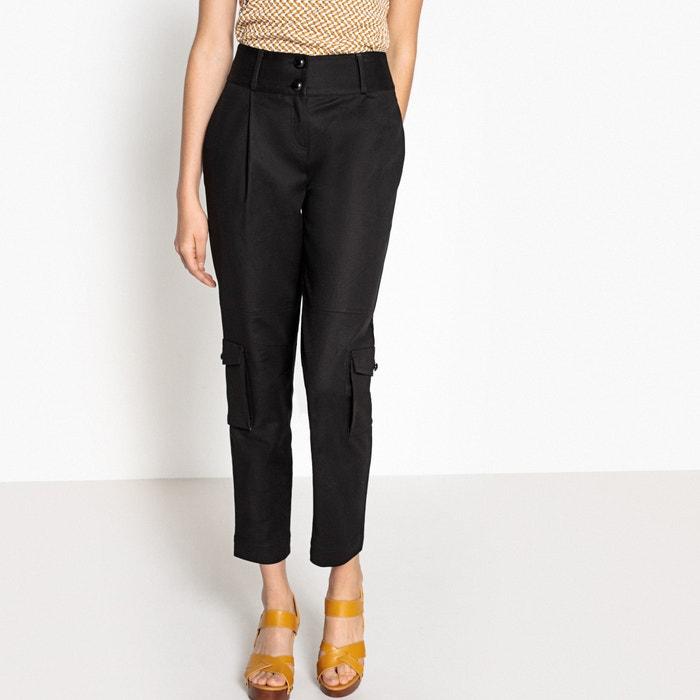 Pantaloni due tasche stile militare  La Redoute Collections image 0