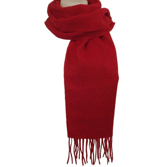 Echarpe cachemire rouge Chapeau-Tendance   La Redoute 2163f917eb0