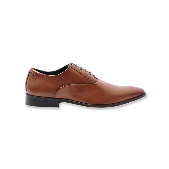 Chaussures de costume en cuir camel Brice  798d0ffb6c8