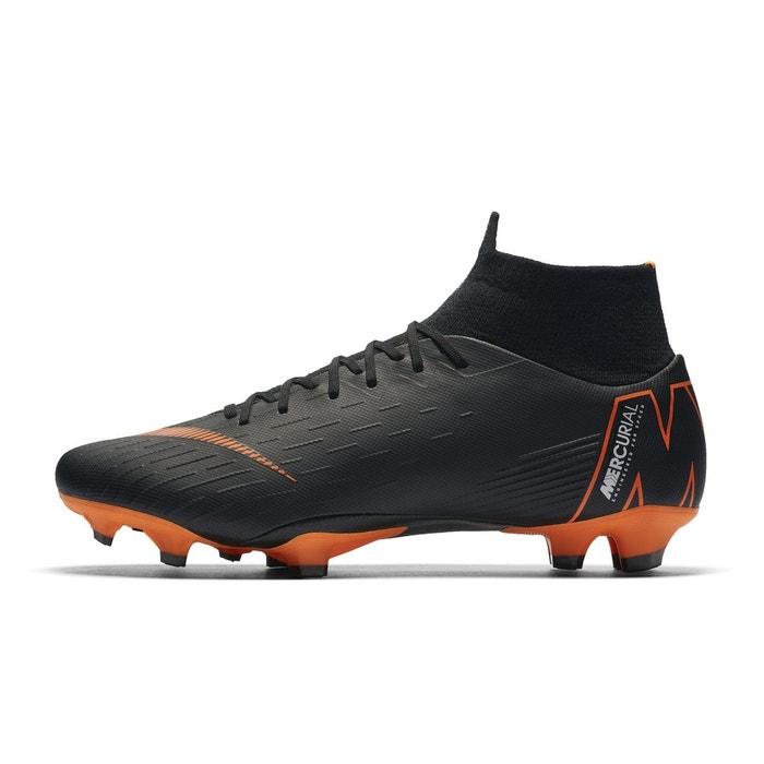 Chaussures football chaussure de football nike mercurial superfly vi pro fg  noir noir Nike   La Redoute 03df788fa7bc