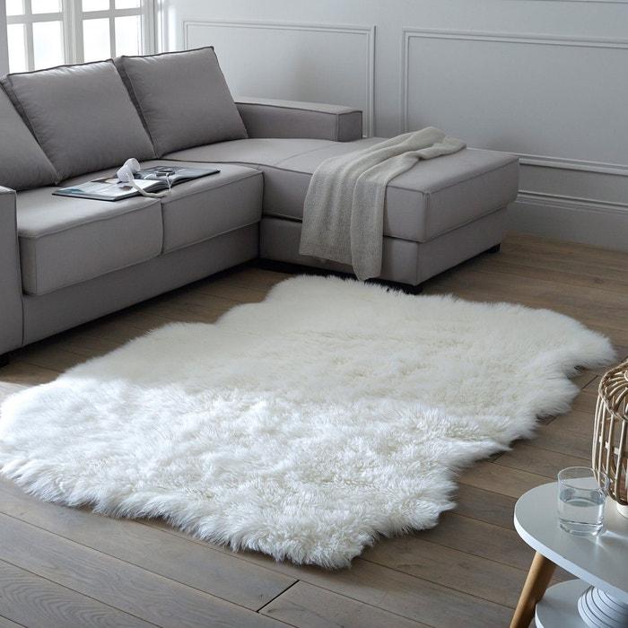 Alfombra efecto piel de cordero Livio, 135 x 190 cm  La Redoute Interieurs image 0