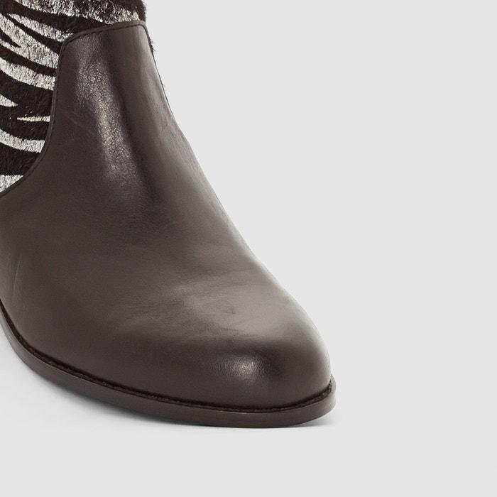 Bild Boots aus Leder Alicette MELLOW YELLOW
