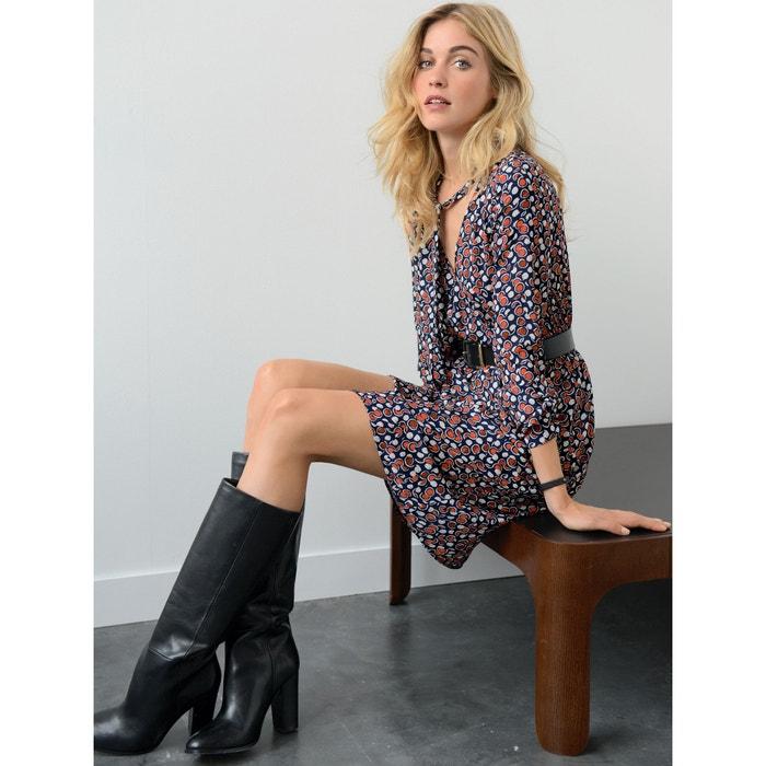 afbeelding Bedrukte jurk LAURA CLEMENT