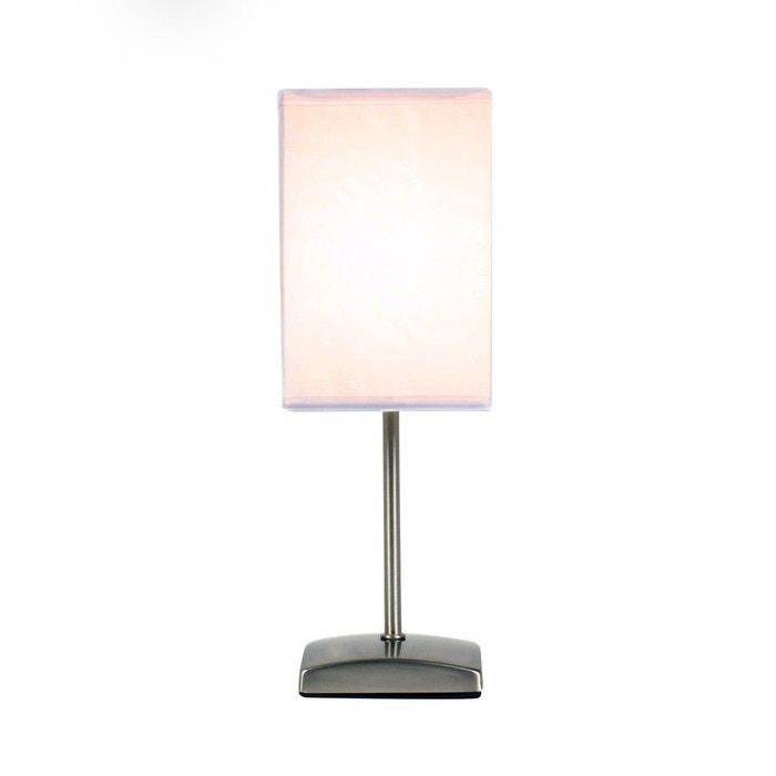 lampe de table fanny blanche en m tal blanc keria la redoute. Black Bedroom Furniture Sets. Home Design Ideas