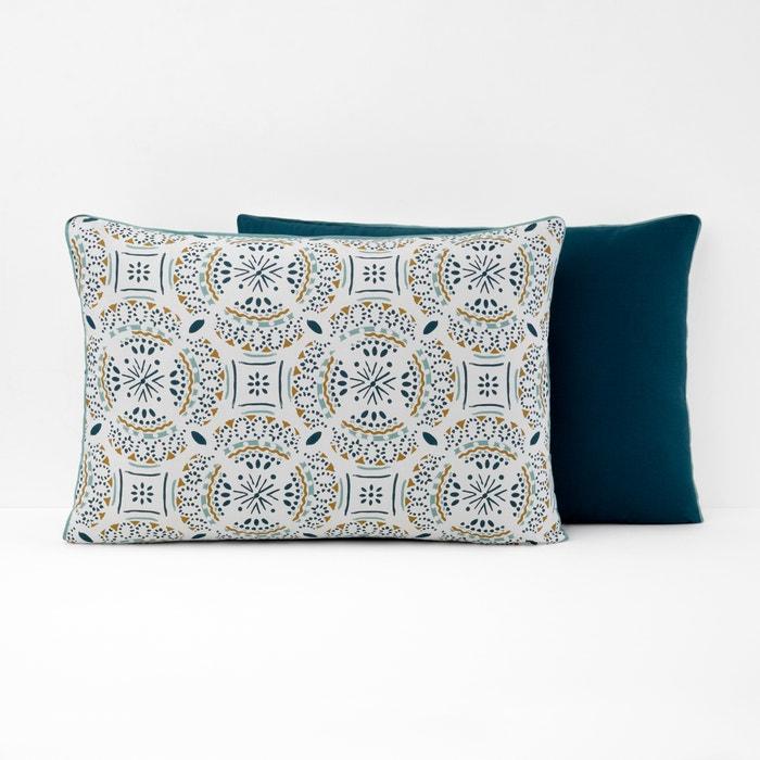 KEYIAH Patterned Cotton Pillowcase  La Redoute Interieurs image 0