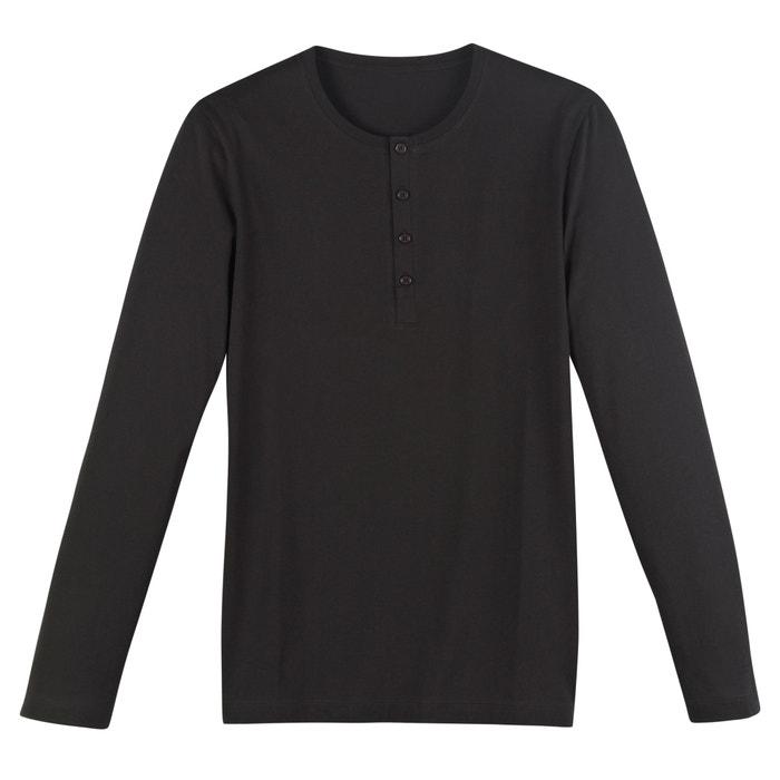 Image T-shirt con collo serafino a maniche lunghe R édition