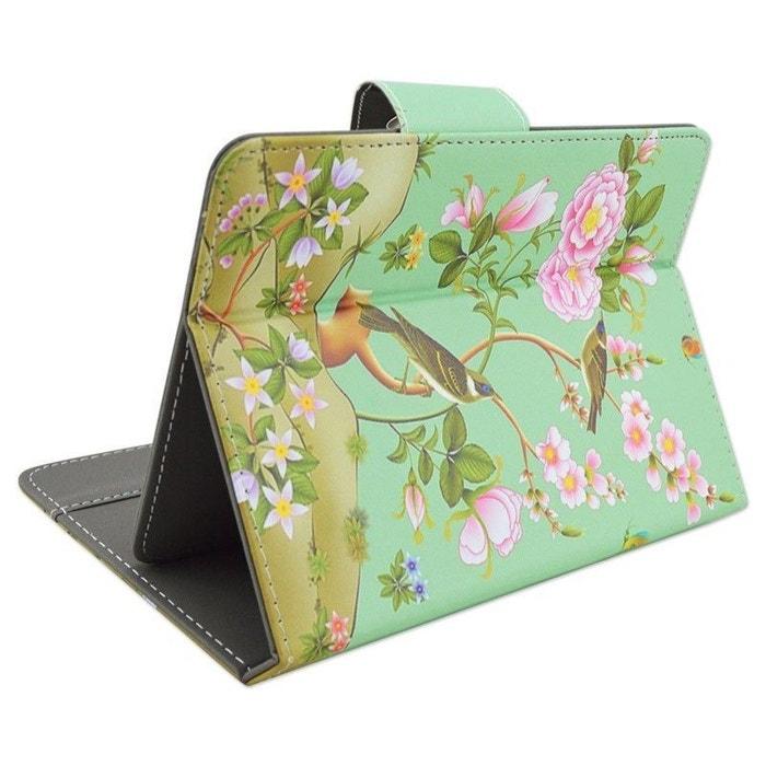 housse tablette 10 pouces universelle tui support oiseau fleur multicolore yonis la redoute. Black Bedroom Furniture Sets. Home Design Ideas