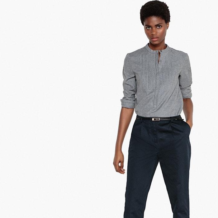 Collections algod larga con cuello Camisa 243;n Redoute de La manga casaca 100 wO6xSFB5q